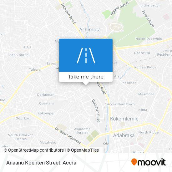 Anaanu Kpenten Street map