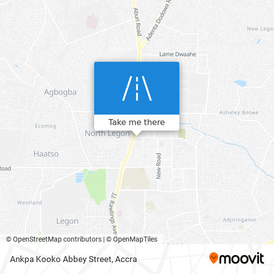 Ankpa Kooko Abbey Street map