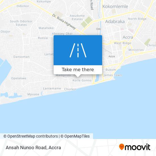 Ansah Nunoo Road map