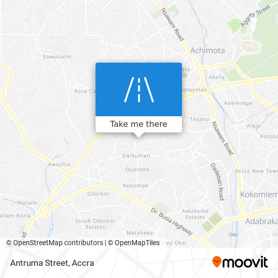 Antruma Street map