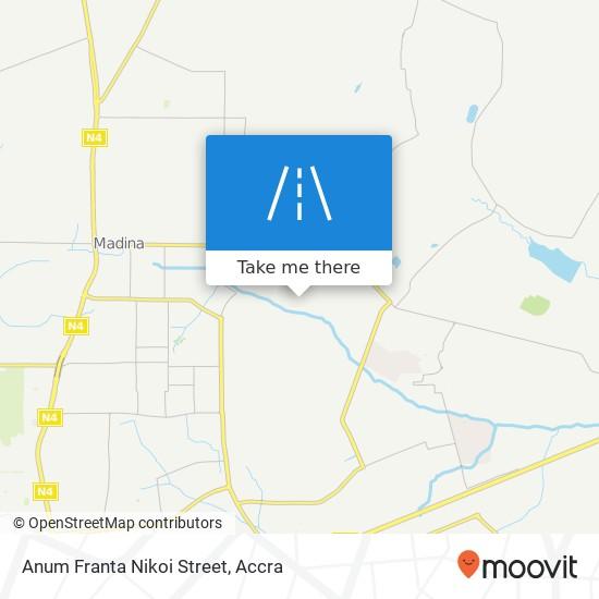 Anum Franta Nikoi Street map