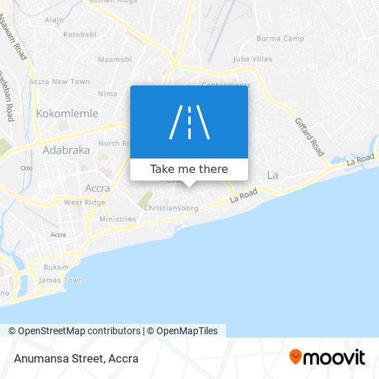 Anumansa Street map