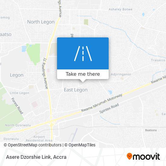 Asere Dzorshie Link map