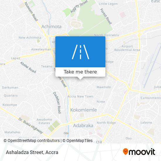 Ashaladza Street map