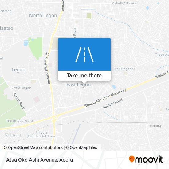 Ataa Oko Ashi Avenue map