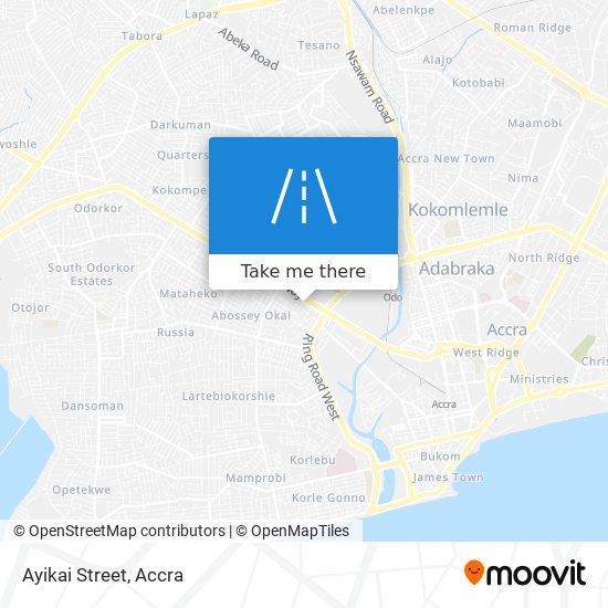 Ayikai Street map