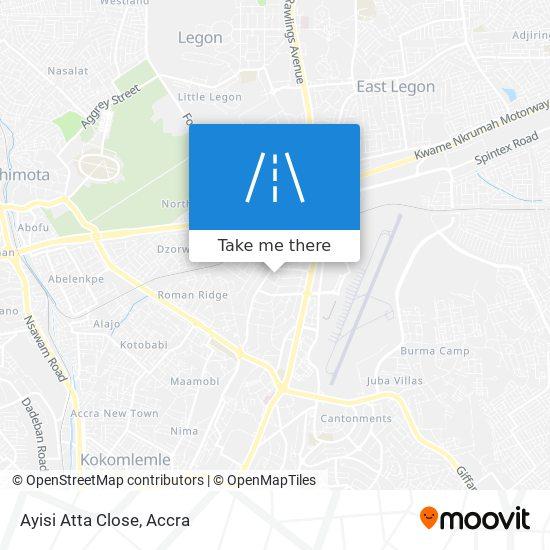 Ayisi Atta Close map