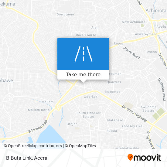 B Buta Link map