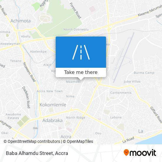 Baba Alhamdu Street map