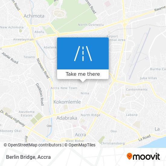 Berlin Bridge map