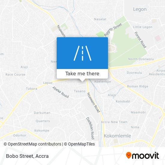 Bobo Street map