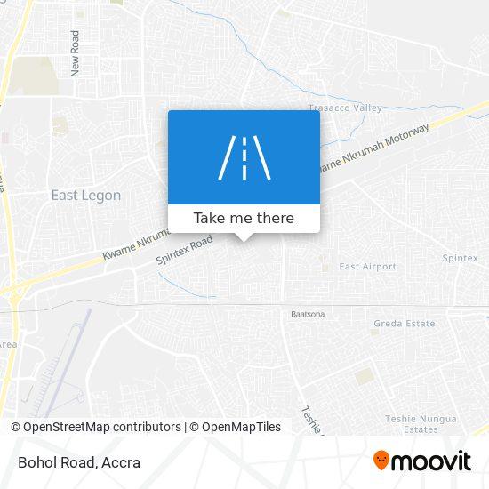 Bohol Road map