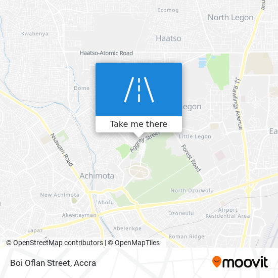 Boi Oflan Street map
