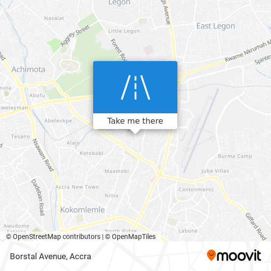 Borstal Avenue map
