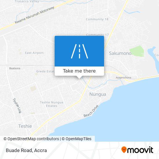 Buade Road map