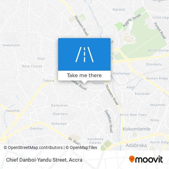 Chief Danboi-Yandu Street map