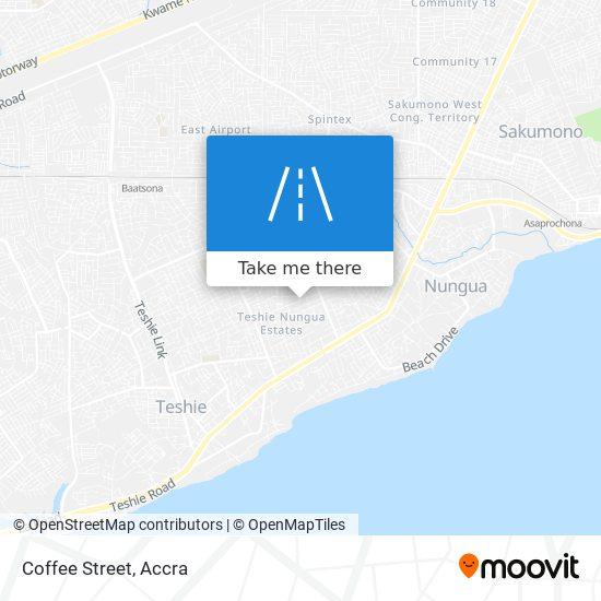 Coffee Street map