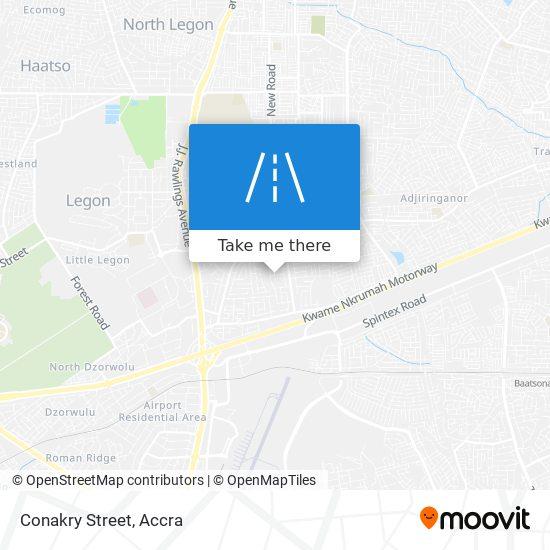 Conakry Street map