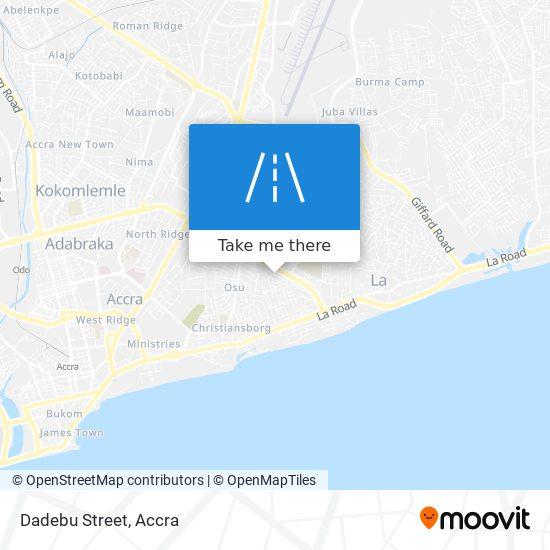 Dadebu Street map