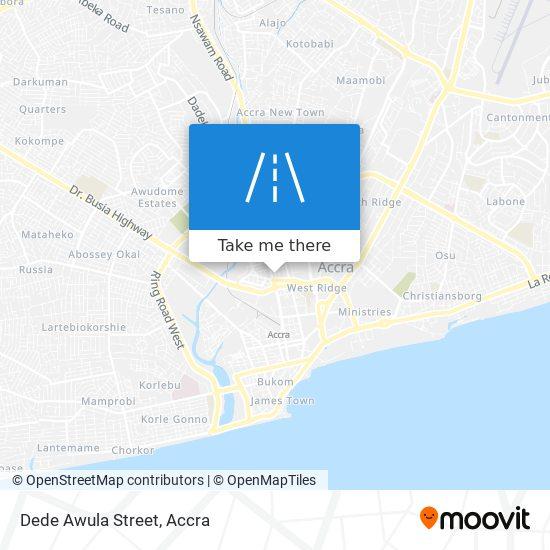 Dede Awula Street map