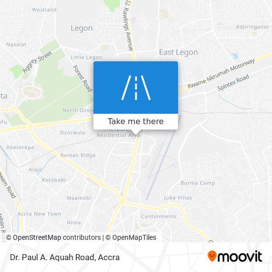 Dr. Paul A. Aquah Road map