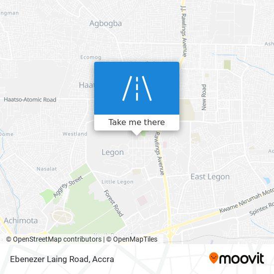 Ebenezer Laing Road map