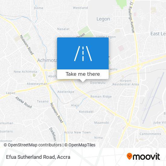 Efua Sutherland Road map