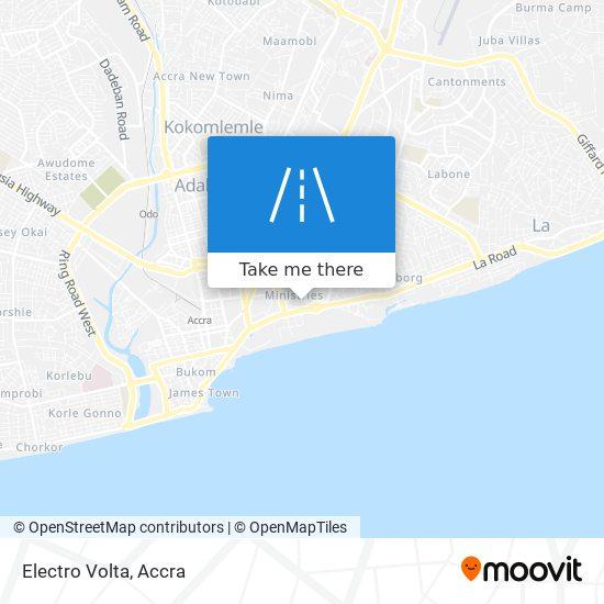 Electro Volta map