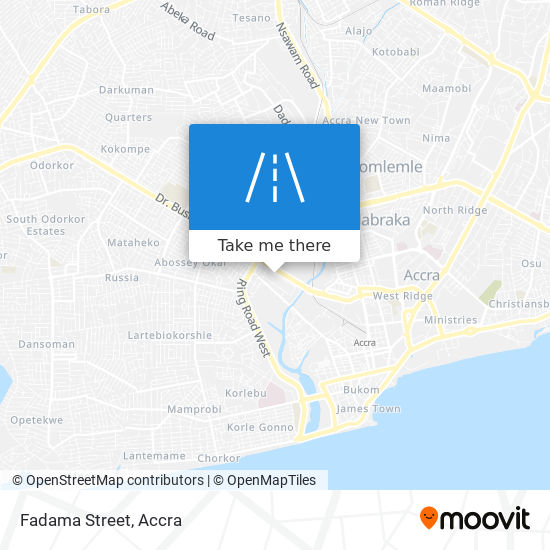 Fadama Street map