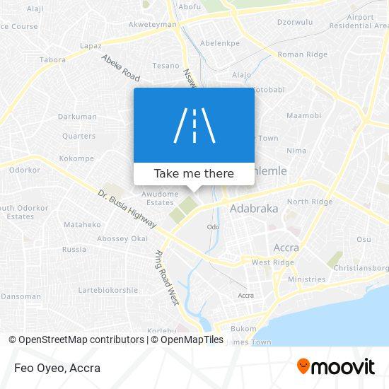 Feo Oyeo map