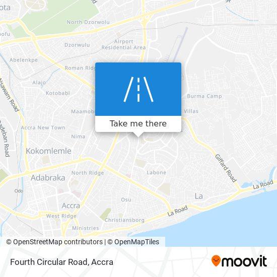 Fourth Circular Road map