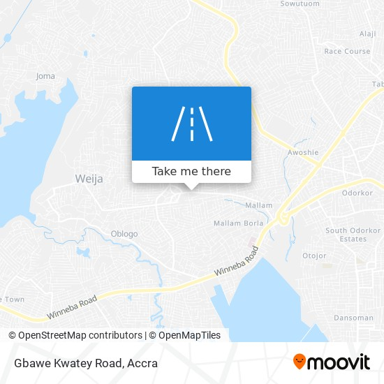 Gbawe Kwatey Road map