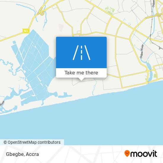 Gbegbe map