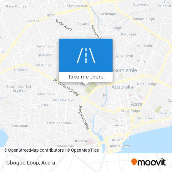 Gbogbo Loop map