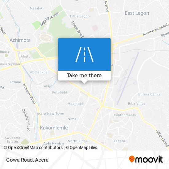 Gowa Road map