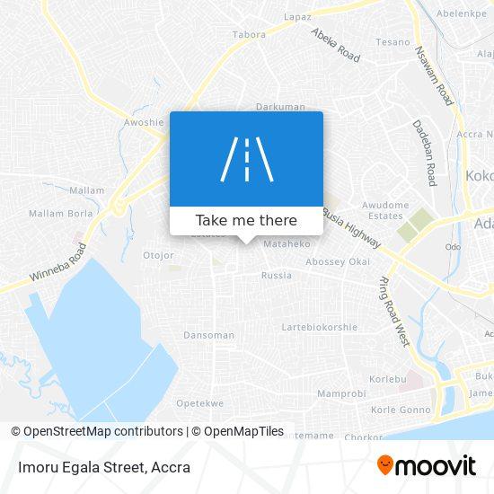 Imoru Egala Street map
