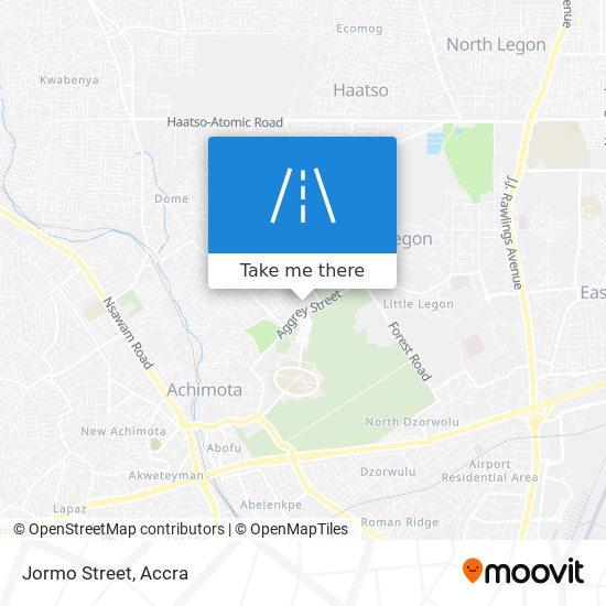Jormo Street map