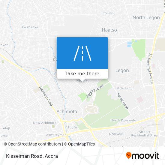 Kisseiman Road map