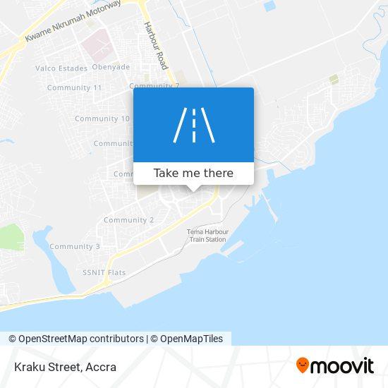 Kraku Street map