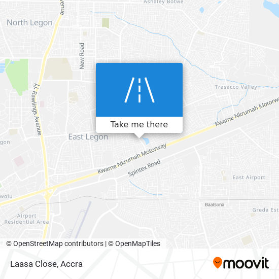 Laasa Close map