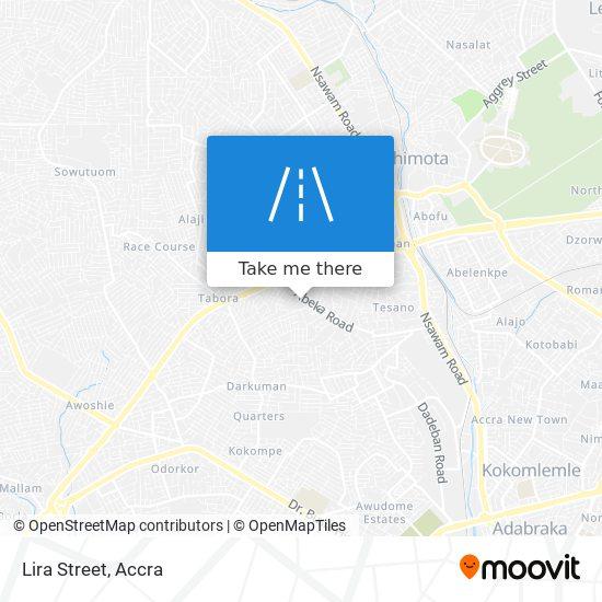 Lira Street map