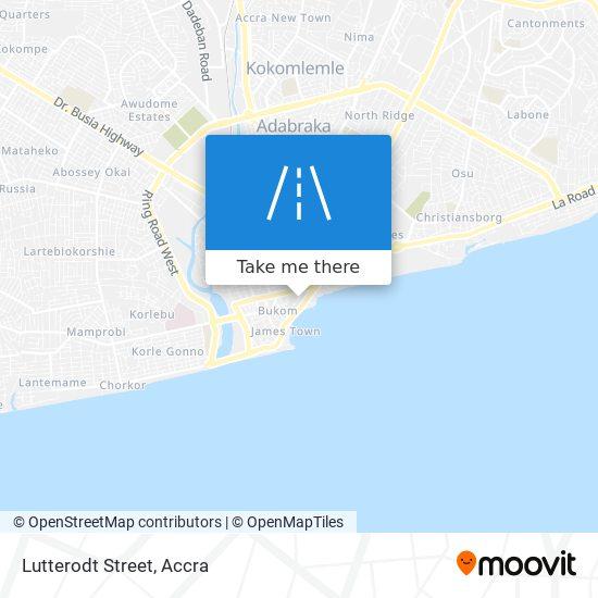 Lutterodt Street map