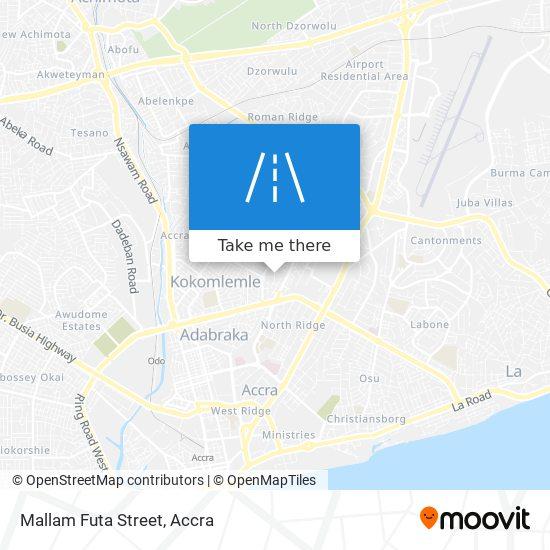 Mallam Futa Street map