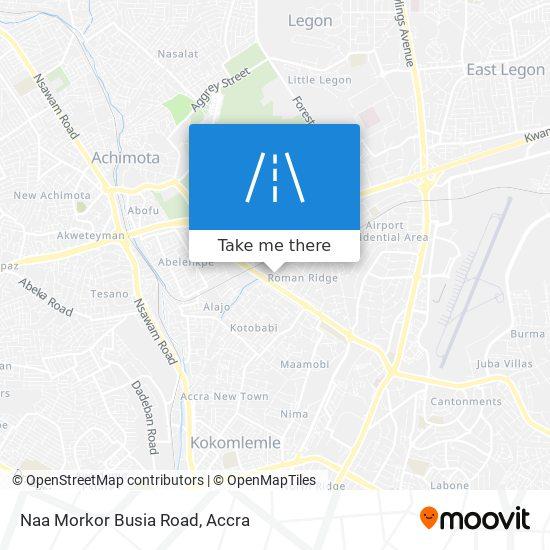 Naa Morkor Busia Road map