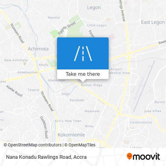 Nana Konadu Rawlings Road map