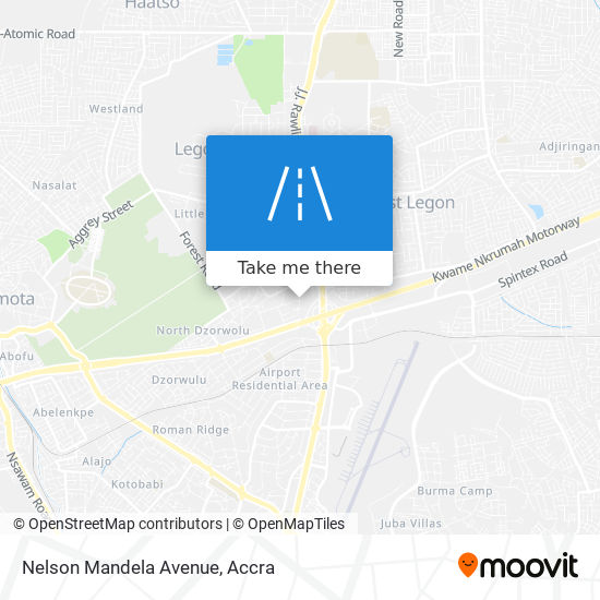 Nelson Mandela Avenue map