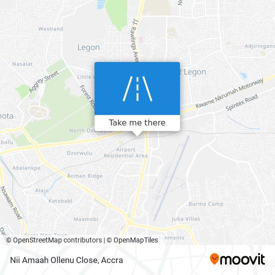 Nii Amaah Ollenu Close map