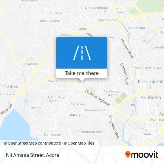 Nii Amasa Street map