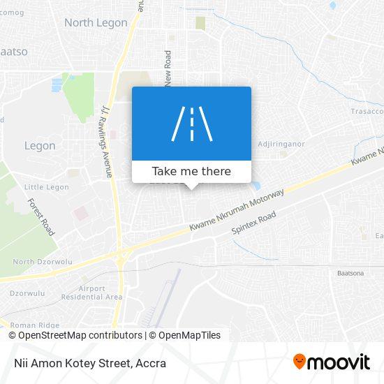 Nii Amon Kotey Street map