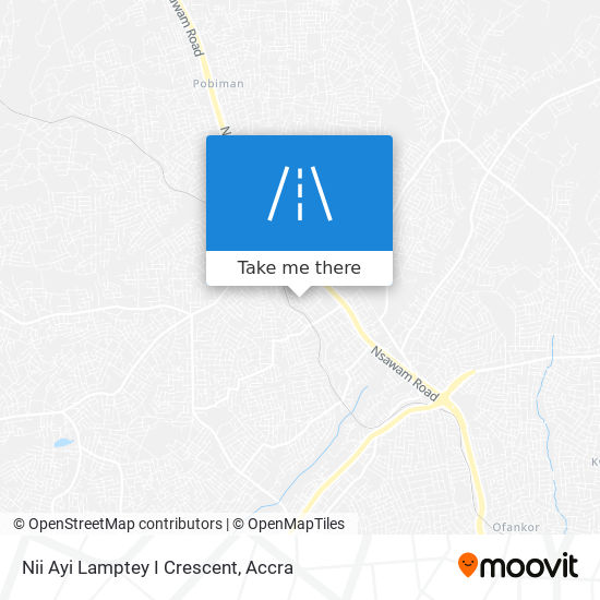 Nii Ayi Lamptey I Crescent map